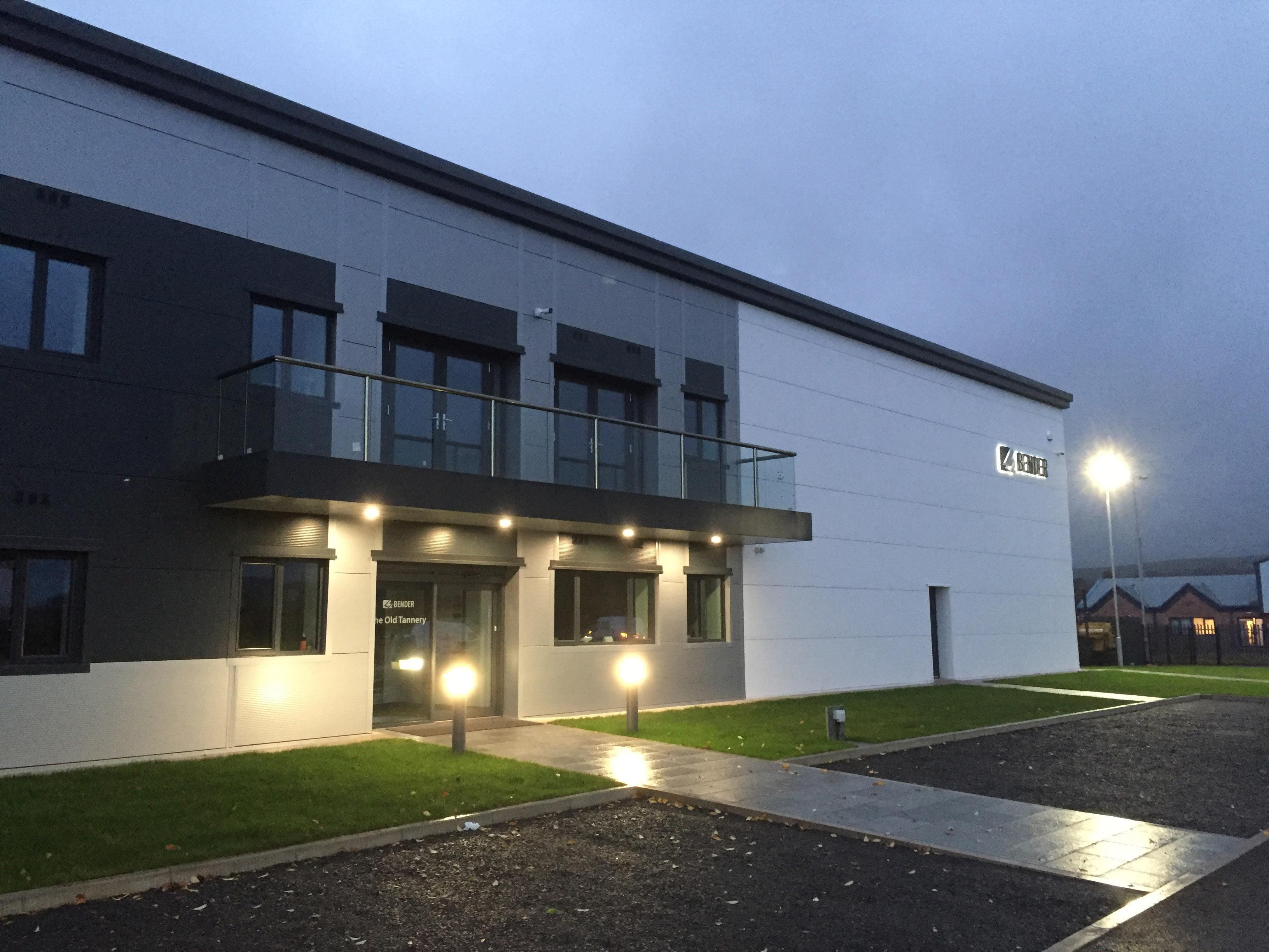 Bender-Niederlassung in Großbritannien bezieht neues Gebäude