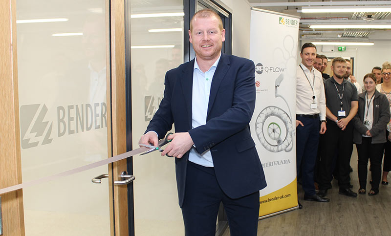 The new state-of-the-art theatre showroom was formally opened by Managing Director Gareth Brunton