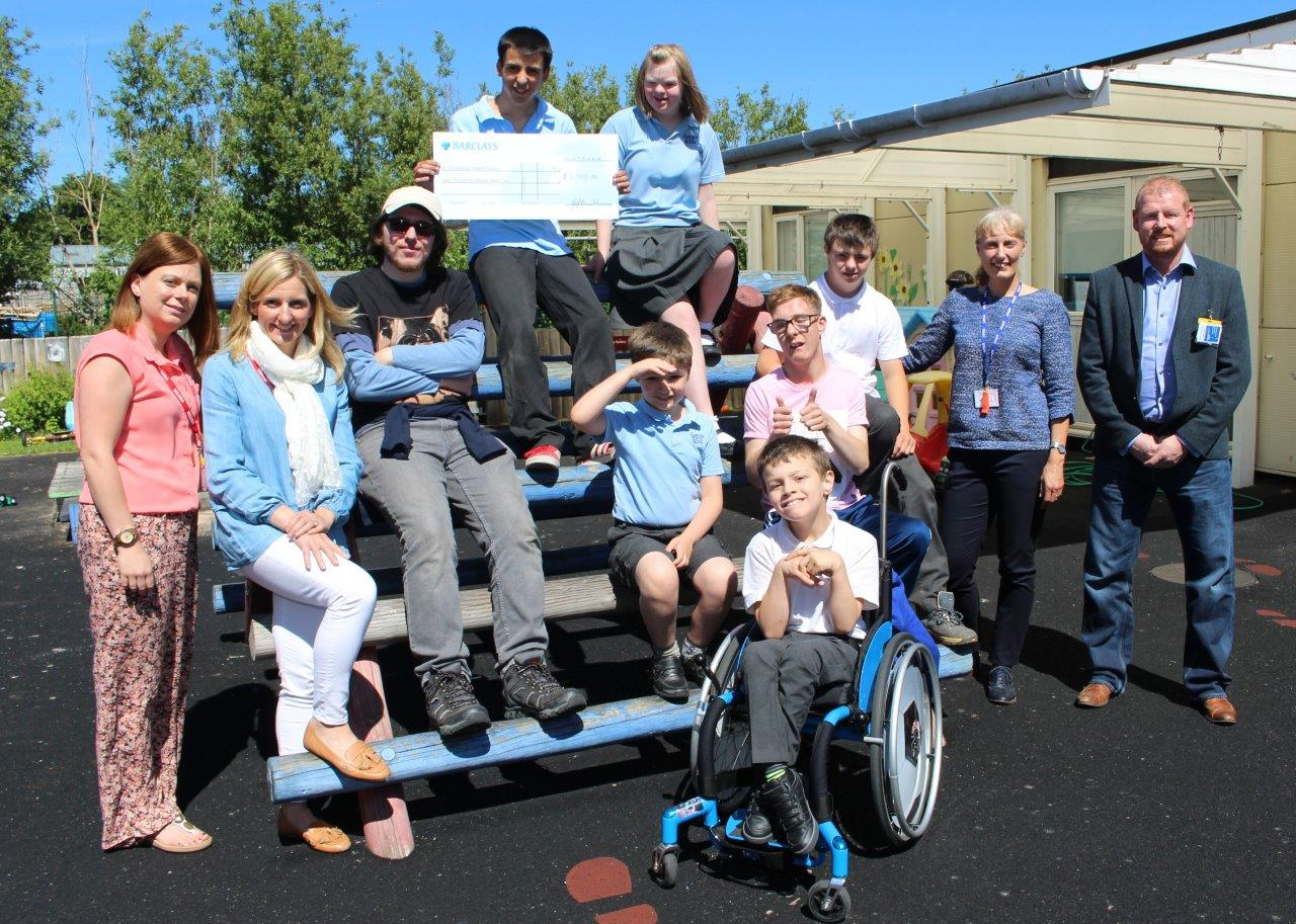 Bender UK Family Fun-day Raffle raises £1,000 for Sandside School