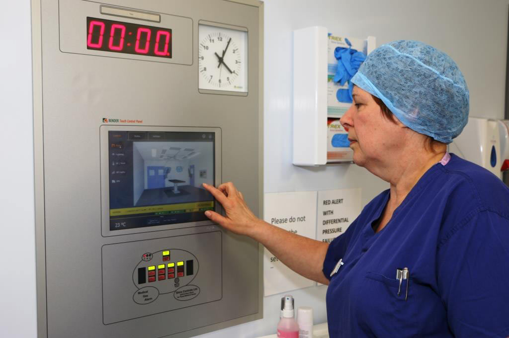 Colchester General Hospital Maternity benefits from Bender protection and expertise