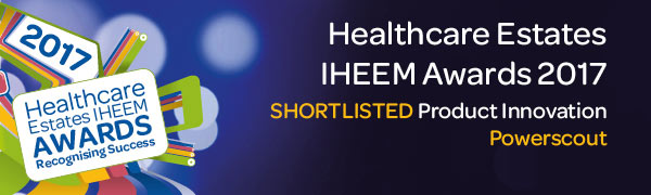 POWERSCOUT® shortlisted as a finalist in the 2017 IHEEM Healthcare Estates Innovation Award