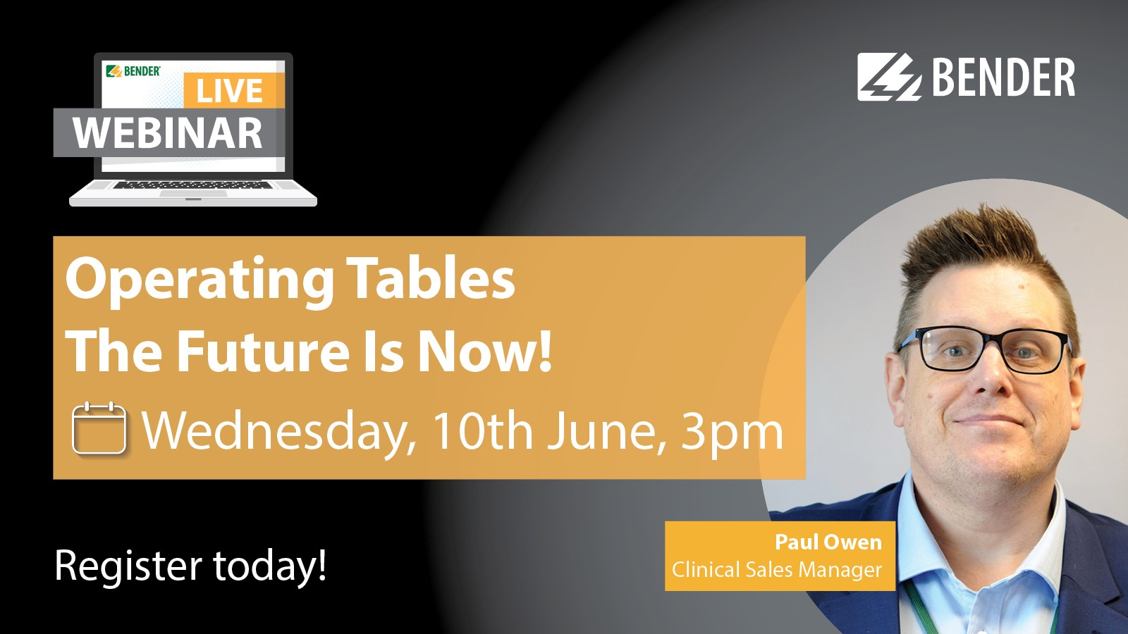 Operating Tables - The Future Is Now!
