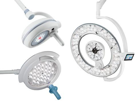 Merivaara operating and examination lights
