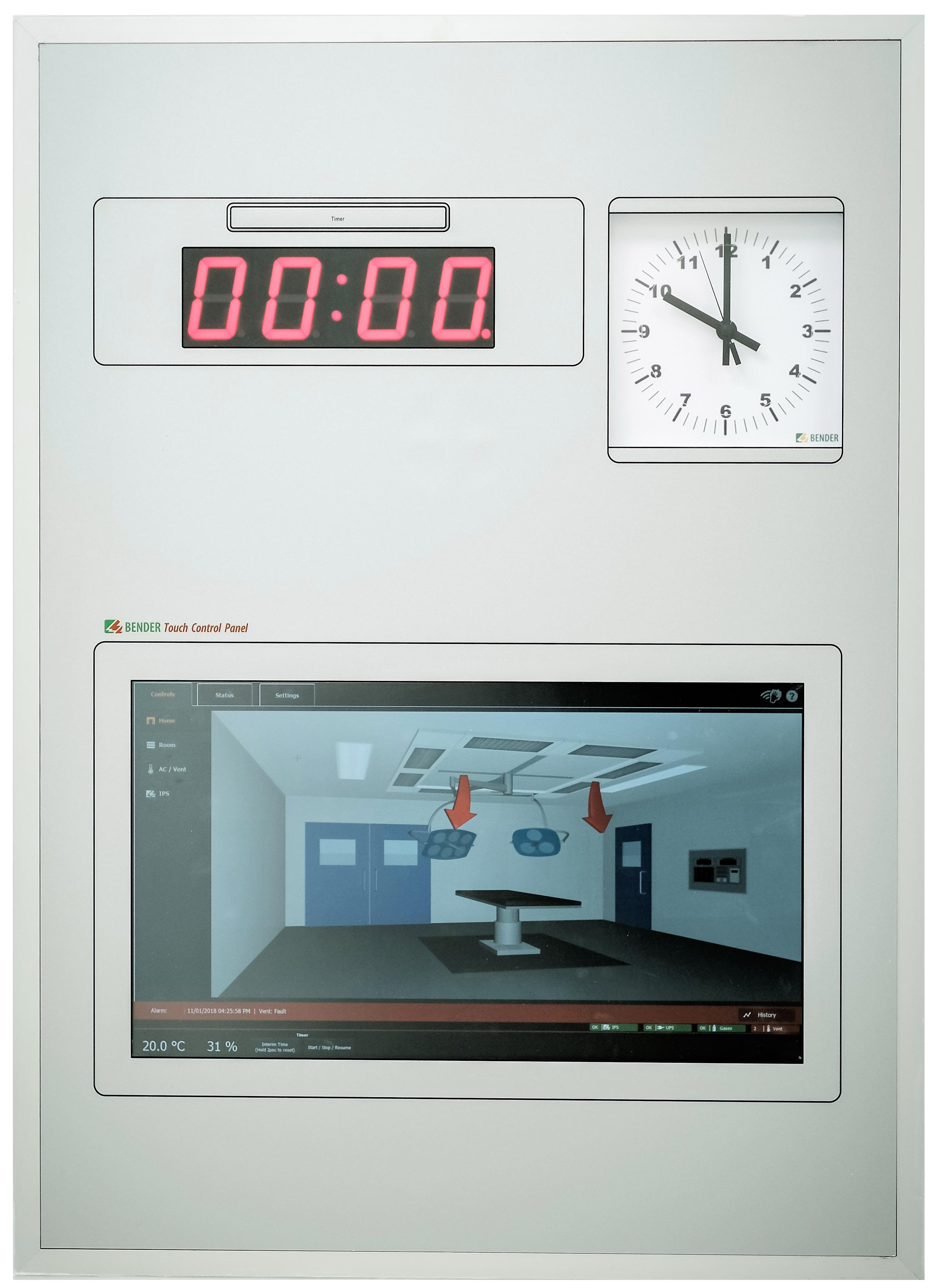 Theatre Control Panels - Operator control panels - Bender