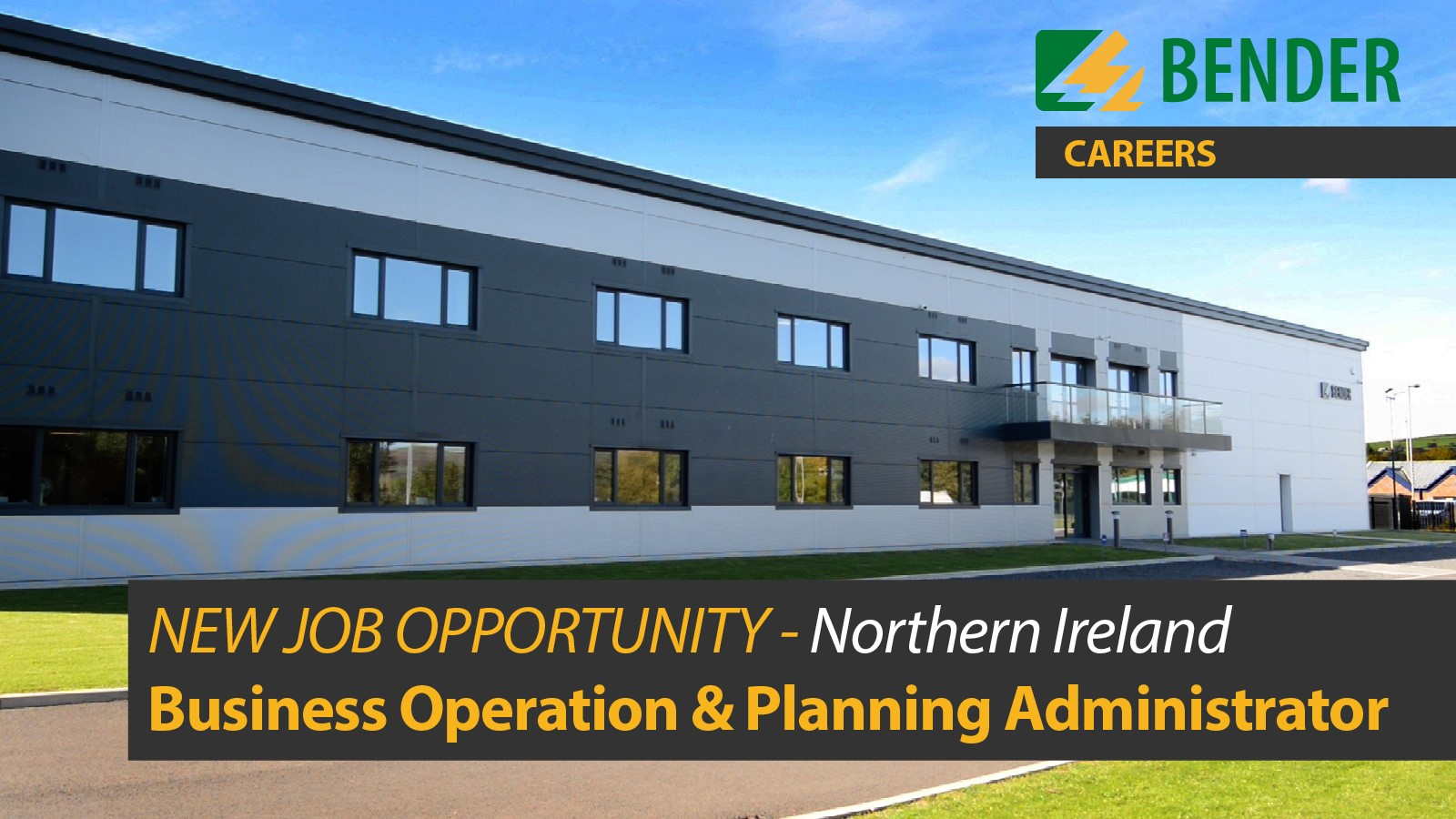 Business & Planning Administrator (Northern Ireland)